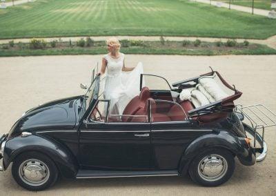Juodo Senovinio vabalo kabrioleto nuoma vestuvėms
