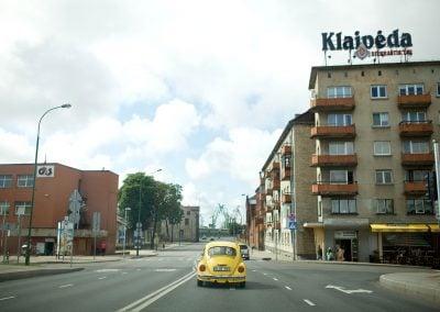 Geltono vabalo nuoma Klaipėdoje