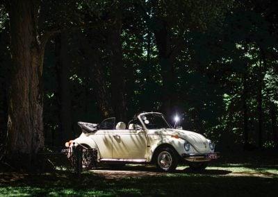 Senovinių automobilių nuoma vestuvėms - vabalo kabrioleto nuoma